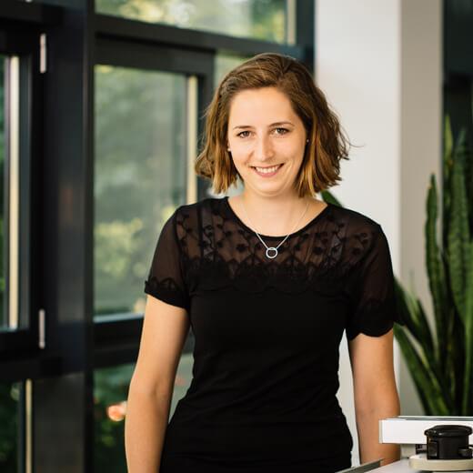 Mitarbeiterin Sabine Martens