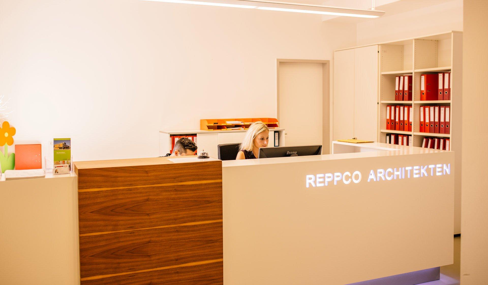 Rezeption von Reppco Architekten