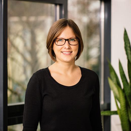 Mitarbeiterin Katrin Moll