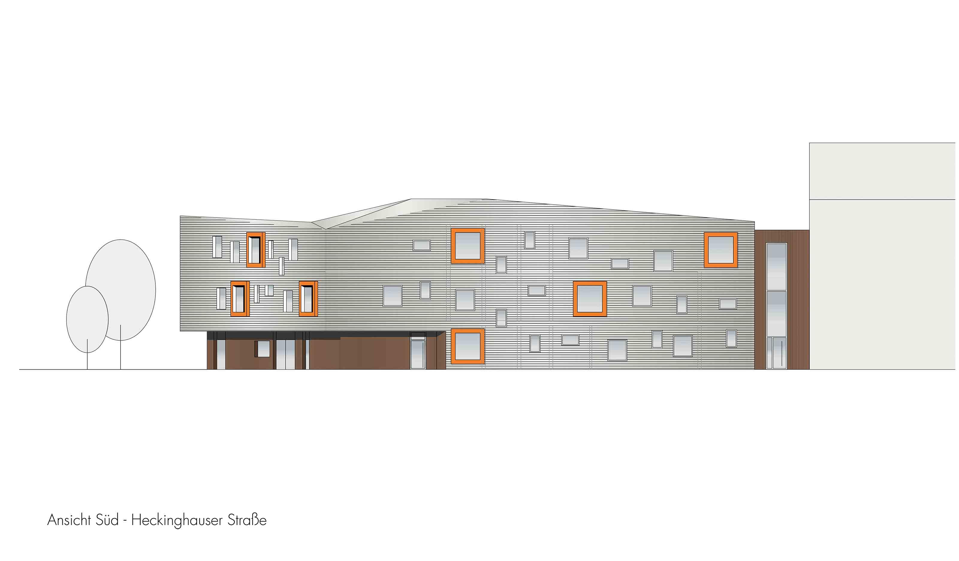 Ansicht-Süd-Neubau-eines-Stadtteilzentrums